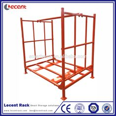 Hot Sale Collapsible Foldable Warehouse Storage Truck Tire Stacking Rack