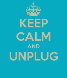 KEEP CALM AND UNPLUG Thursday, October 10 from 12:00pm-1:00 pm :: Take an hour away from technology to celebrate World Mental Health Day.  Connect with a friend over lunch, go for a walk around campus or check out the events below at 12 noon. How does your mood change when you take a break & have some face-to-face time? Learn more at: www.unpluggedhour.com