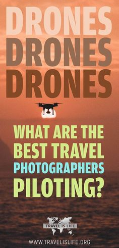 What is the best travel drone? | Top Travel Drones for Travel Photographers 2017 | How to choose the best portable travel drone | DJI Mavic Pro Drone Reviews | DJI Phantom 4 Pro+ Drone Reviews | Parrot Bebop 2  Drone Reviews | Autel Robotics X-Star Premium Drone Reviews.
