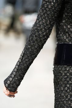 See detail photos for Chanel Fall 2013 Couture collection.