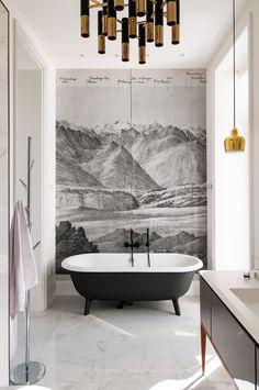 best 20 bathroom mural ideas on homecm in bathroom wall murals Top 18 Bathroom Wall Murals