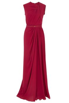 Gathered Front Gown By ELIE SAAB @ http://www.boutique1.com/