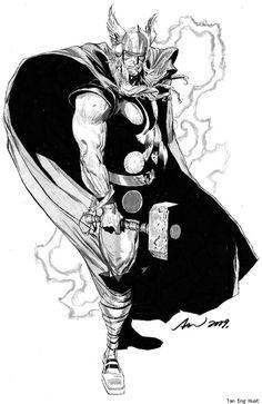 Thor by Tan Eng Huat