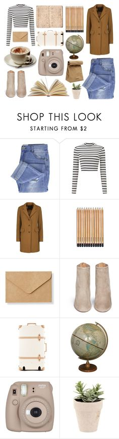 """""""No matter where i go your always on my mind"""" by a-hidden-secret ❤ liked on Polyvore featuring Taya, Miss Selfridge, Muji, Aquazzura, Parra, Jil Sander and Fujifilm"""