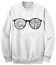 Unisex Crewneck Ed Sheeran Lyric Sweatshirts
