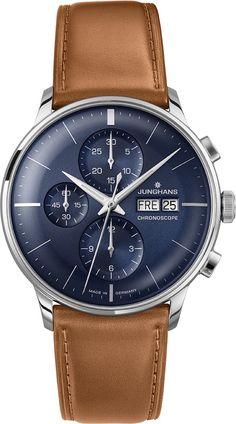 Junghans Meister Chronoscope 027452600 Herrenchronograph
