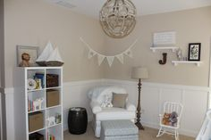 Cozy corner for nursing and cuddling - #nursery