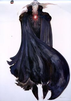 Awesome - Garland by Yoshitaka Amano #final #fantasy #9