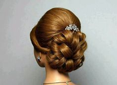 Wedding prom hairstyle for long hair. Wedding prom hairstyles for . Wedding prom hairstyle for long hair. Wedding prom hairstyle for long hair. Wedding prom hairstyles for . Wedding prom hairstyle for long hair. Prom Hairstyles For Long Hair, Up Hairstyles, Pretty Hairstyles, Classic Updo Hairstyles, Chignon Hair, Bridal Hair Updo, Prom Updo, Hairstyle Wedding, Long Hair Wedding Styles