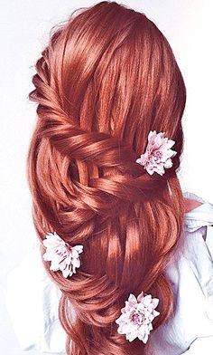 Wedding Hairstyles And#8211; Romantic Bridal Updos ❤ See more: http://www.weddingforward.com/romantic-bridal-updos-wedding-hairstyles/ #weddings