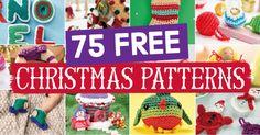 75 FREE CHRISTMAS PATTERNS