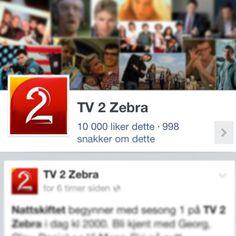 """10000 likes på #tv2zebra i dag! Et prosjekt for å løfte tv kanalen TV 2 Zebra, økt sosial tilstedeværelse, skape blest om kanalen igjen og gjøre innholdet til en """"snakkis""""."""