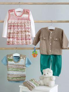 Kids Knitting Patterns Knit a Jacket, Dress, Tank & Hat Knit Pattern | Bookdrawer