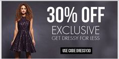 Get Dressy for less! Use code > DRESSY30 for added savings on all our dresses! (10/30/14-11/6/14).   Follow & visit us @ www.axparisusa.com for an inside look on the latest fashion trendsl! #axparisusa #fashion #style #design #dresses #fashionista #fashionblogger #instafashion #clothes #instacute #weheartit #instagrammer #newtrends #newcollection #dreamcloset #musthave #lookbook #womensfashion #trendy #dressforless #amazondresses #ootd #girl