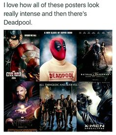 Deadpool is me everyday
