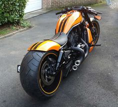 "Harley Night Rod Maxi Show Bike pneu 300 jante 11"" Motos Aisne - leboncoin.fr"