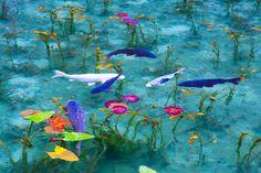 夢を見ているような錯覚にとらわれる神秘的な池。岐阜県関市の根道神社の近くにある名もない池で、その絵画のように美しい景観から「モネの池」ともいわれます。 印象派の画家クロード・モネが描いた「睡蓮」の連作によく似ていますね。 Beautiful Places In Japan, Beautiful World, Beautiful Images, Aqua Pools, Water Aesthetic, Art Chinois, Koi Fish Pond, Natural Scenery, Fish Art