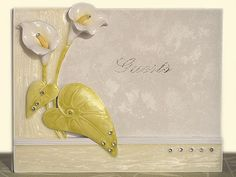 The Elegant Lily Collection Guest book.