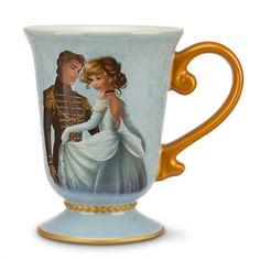 New Cinderella and Prince Charming Mug - Disney Fairytale Designer Collection