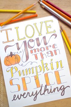 More Than Pumpkin Free Coloring Page