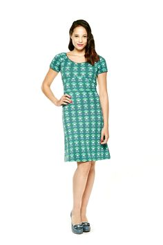 Tante Betsy dress Folky Green