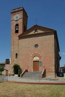 Pieve di Santa Maria Assunta al Castello di Montefoscoli di Palaia ( Pisa ), in stile romanico