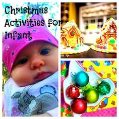 Montessori inspired Christmas activities for babies.