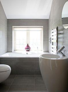 How to Feng Shui Your Bathroom, Comfortable and Modern Bathroom Design Ideas Modern Bathroom Tile, Contemporary Bathroom Designs, Bathroom Tile Designs, Contemporary Interior Design, Bathroom Floor Tiles, Modern Bathrooms, Bathroom Ideas, Bathroom Vanities, Bathroom Furniture