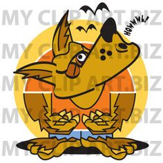 Werewolf Clip Art http://www.myclipart.biz/illustration/15973/werewolf_howling_at_the_moon_while_bats_fly_above