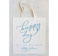 fun for greeting bags for out of town guests