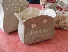 sewing tutorial for a basket ♥