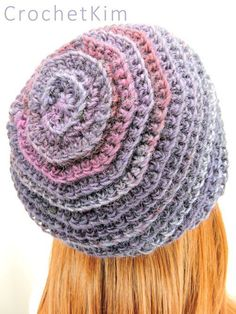 CrochetKim Free Crochet Pattern | Channel the Mind Beanie @crochetkim