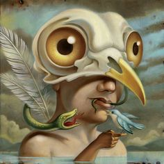 Chris Buzelli - Icarus, mythology #illustration
