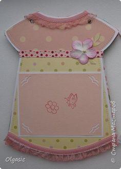 Скрапбукинг Ассамбляж Альбом-платье для девочки Бумага Картон фото 5