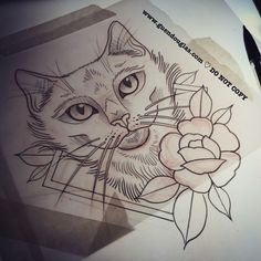 One fun little kitty to end the day tomorrow. #tattoo #tattoos