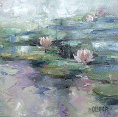Art Talk - Julie Ford Oliver: LilyPond - Misty Morning