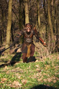 DRUID ARMOR Complete Set LEATHER by Bottegadeisogni on Etsy, €600.00