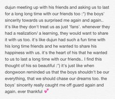 """dujun meeting up with his friends and... :"""")"""