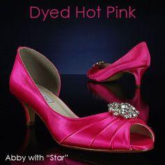 Short Pink Heels  Tsaa Heel