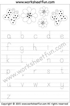 Capital and Small Letter Tracing Worksheet | Kindergarten ideas ...