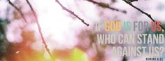 Romans 8-31 Facebook Covers - Facebook Covers | Timeline Covers – iWANTCOVERS.com