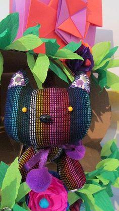 gato, juguete artesanal diseño