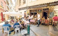 #Al Fresco dining, Paris France (or pretty much anywhere)  #www.frenchriviera.com