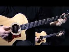 """part 1   how to play """"Tears in Heaven"""" on guitar by Eric Clapton   acoustic guitar lesson   tutorial - YouTube"""