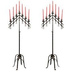 gothic candelabras by 1st Dibs | Olioboard