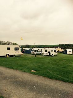 Practical Caravan Reader Rally Stowford Farm Meadows May 2015