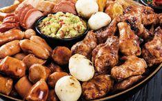 Recetario Fajitas, Sausage, Bbq, Chicken, Ideas, Food, Gastronomia, Vestidos, Chicken Sausage