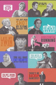 The best from Pitch Perfect. i love Pitch perfect great movie! Tv Quotes, Movie Quotes, Funny Quotes, Fat Amy Quotes, Drunk Quotes, Calm Quotes, Lyric Quotes, The Hit Girls, Pitch Perfect Quotes