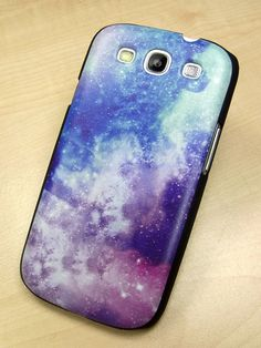 seriously want this! Samsung galaxy s3 case galaxy starlight Hard samsung galaxy s3 Cover. $11.99, via Etsy.