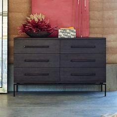 Nash 6-Drawer Dresser - Mineral   west elm